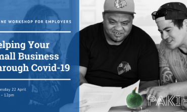 Online Workshop for Employers: Helping Your Small Business Through Covid-19